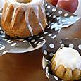リンゴと紅茶のクグロフケーキ